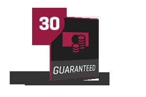 30 day guarantee
